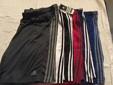 New Adidas Big and Tall Athletic Climalite Shorts 3XL 4XL 5XL Choose Color