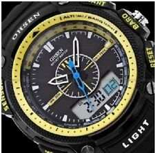 OHSEN Sport Multi Function Military Army LCD Dual Core Watch Mens Sport Date Day