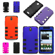 For Huawei Ascend Plus Hybrid Case - Hard Outer + Flexible TPU Inner Cover