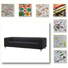 Custom Made Cover Fits IKEA  Fits 4 Seater KLIPPAN Sofa, Patterned Sofa Cover