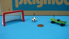 Playmobil sports series goal net soccer ball skate board CHOOSE one mini toy 119