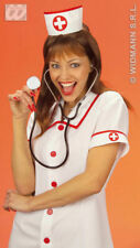 Adult Nurse Hat Doctor Hat With Cross On Elastic To Fit Fancy Dress