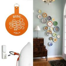Original Invisible Disc Picture Adhesive Plate Hangers Recycling Sticker