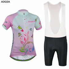 Cycling Jersey Ropa Ciclismo Bike Bicycle Clothing Short Sleeve Suit+Bib Shorts