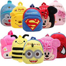 Baby Toddler Kids Child Mini Cartoon Animal Backpack Schoolbag Shoulder Bag & 2
