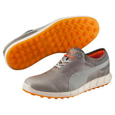 New Ignite Spikeless Puma Golf Shoes Drizzle-Vibrant Orange 188663 01