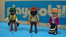 Western lady man figure Playmobil klicky for collectors toy CHOOSE one 167