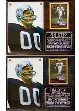 Jim Otto #00 Oakland Raiders Photo Card Plaque HOF