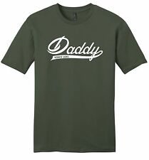 Daddy Since 2015 Mens Soft T Shirt New Father New Baby Fathers Day Tee Z2