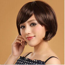 Hot Women's Cosplay Party Wigs Girls Sexy Fashion Full Short Straight Wig Hair