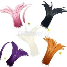 Wholesale Beautiful 10PCS Dyeid Rooster Tail Feathers 35-40cm Craft Feather
