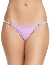 Women's New Thong Swimsuit Bottom By Gary Majdell Sport Orchid