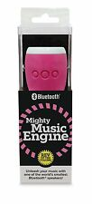Mighty Music Engine Bluetooth Speaker - White/Pink BRAND NEW LOUD iPhone Samsung