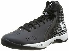 Under Armour UA Micro G Torch Basketball Shoe w/ ClutchFit - Black White 1246940