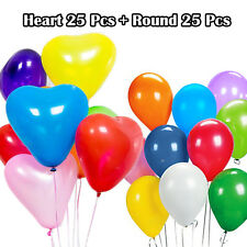 PANOPLY Party Heart Round Shape Balloons Wedding Propose Birthday Latex Balloon