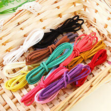 Flat Faux Suede Leather Cord Lace Thong Jewellery Making String Craft 1M SE