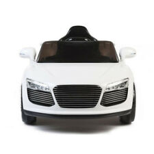 Audi Style 12v Electric Kids Ride on Car with Remote - White