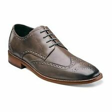 Florsheim Castellano Mens Wingtip Oxfords Gray Leather Dress Shoes