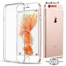 For Apple iPhone 7 Case Transparent Crystal Clear Case Gel TPU Soft Cover Skin