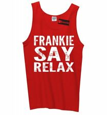 Frankie Say Relax Funny Mens Tank Top 80s Music Hollywood Sleeveless Tee Z3
