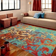 RUGS AREA RUGS 8x10 AREA RUG CARPET MODERN RUGS LARGE RUGS COLORFUL RUGS ~ NEW ~