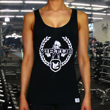 VIRTUE FEMALE FITNESS GYM SINGLET WOMANS YOGA TRAINING FITNESS WORKOUT TOP