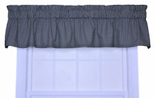 "Ellis Curtain Logan Gingham Check Print 70"" Curtain Valance"