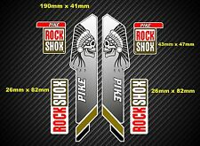 Rock Shox Pike 2013 Style Suspension Fork Decal/Stickers 018