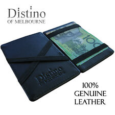 Wallet - Men's Leather Magic Flip Wallet by Distino Of Melbourne