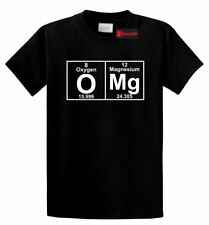 OMG Periodic Table Funny T Shirt Cute Science Parody Nerd Geek College Tee
