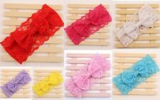 Newborn Girls Kids Baby Toddler Infant Bow Headband Hair Band Accessories