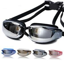 Adult Professional Waterproof Swim Glasses Anti-Fog UV Protect Swimming Goggles