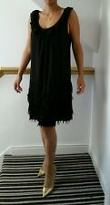 BNWT Gorgeous ladies PRASLIN frill V.neck CHIFFON dress 16-26