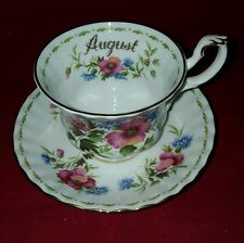 ROYAL ALBERT POPPY CUP AND SAUCER