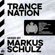 Ministry of Sound: Trance Nation - Schulz,Markus New & Sealed CD-JEWEL CASE Free