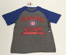 Chicago Cubs baseball Official Merchandise MLB Youth T-Shirt Raised Letters
