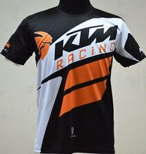 KTM T-Shirt Short Sleeves Men Motorcycle Biker Cruiser Enduro Racing Casual New