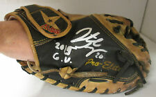 Brewers JONATHAN LUCROY Signed 2015 GAME USED Catchers Glove - AUTO