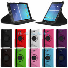 "360 Rotating Leather Case Stand Cover For Samsung Galaxy Tab E 8.0"" T375 T377"