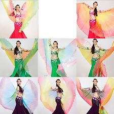 Belly Dance Costume Gradient Color Colorful Angel Isis Wings Rainbow wing