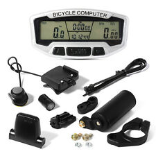 SUNDING Multifunction Noctilucous LCD Computer Speedometer Odometer For Bicycle