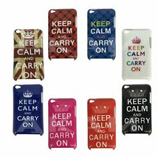 Hard Back Case Cover For Apple iPod Touch 4 4th Gen Keep Calm And Carry On