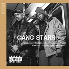 Icon - Gang Starr New & Sealed CD-JEWEL CASE Free Shipping