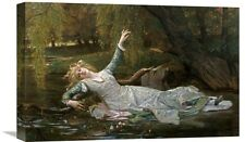Global Gallery 'Ophelia' by Alexandre Cabanel Painting Print on Wrapped Canvas