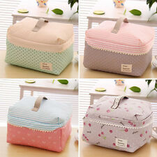 New Large Pencil Pen Case Cosmetic Makeup Box Bag Storage Pouch Lunch Purse Bag