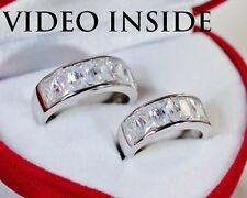 ACJ18*His&Hers 2Wedding Bands Engagement & Wedding Engagement/Wedding Ring Sets