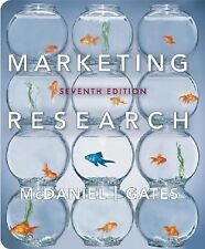Marketing Research by Carl McDaniel and Roger Gates, 7th Edition (Hardcover)