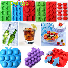Silicone/Rubber Mold Ice Cube Tray Chocolate Muffin DIY SOAP Mould Jello Candy