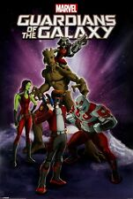 Marvel Guardians Of The Galaxy Cartoon Poster 61x91.5cm