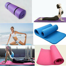8/10mm Thick Durable Yoga Mat Non-slip Exercise Fitness Pad Mat Lose Weight